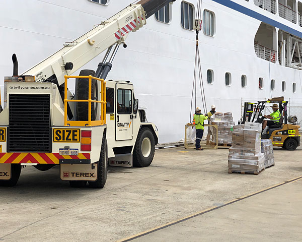 stevedoring services by three ocean maritime perth western australia